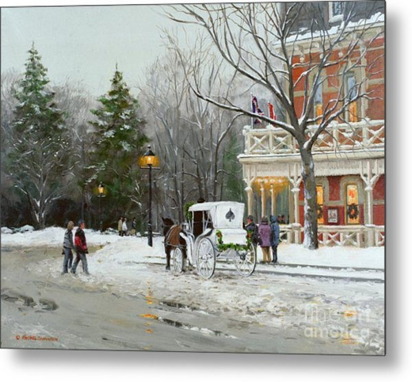 Niagara Carriage By The Prince Of Wales Metal Print by Michael Swanson