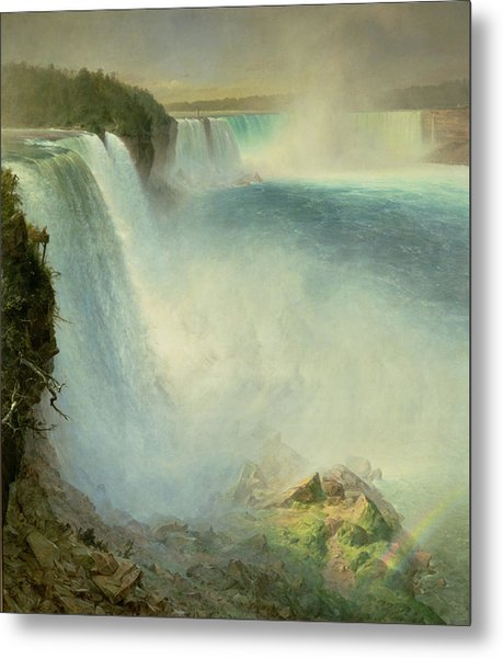 Niagara Falls, From The American Side, 1867 Metal Print