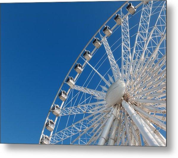 Niagara Sky Wheel Metal Print