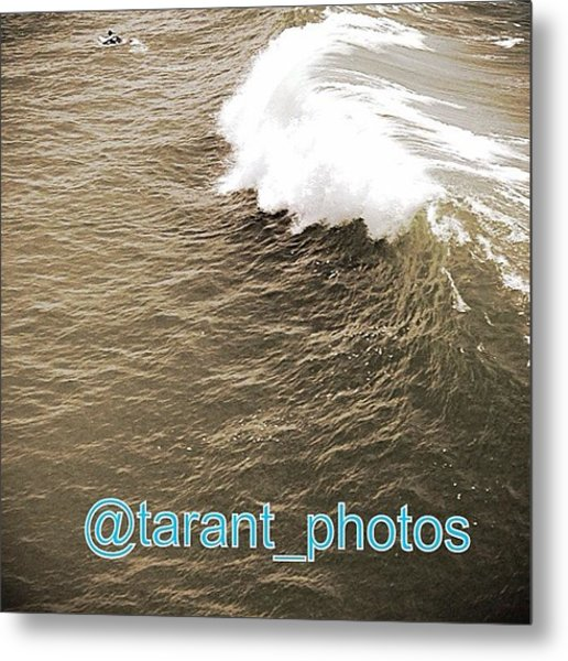 Nice Break Wish Some One Was On This Metal Print