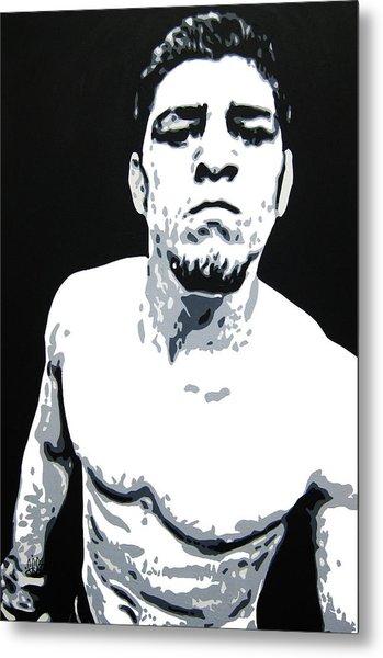 Nick Diaz 2 Metal Print