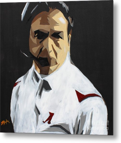 Nick Saban Metal Print