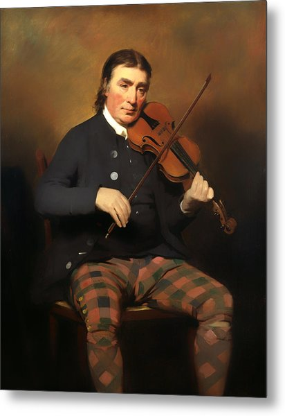 Niel Gow - Violinist And Composer Metal Print