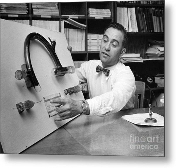 Nier And Uranium Separation, 1950s Metal Print