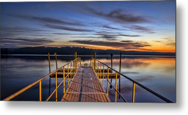 Night And Day Metal Print by Brian Young