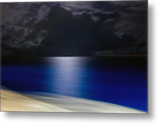 Night And Water Metal Print