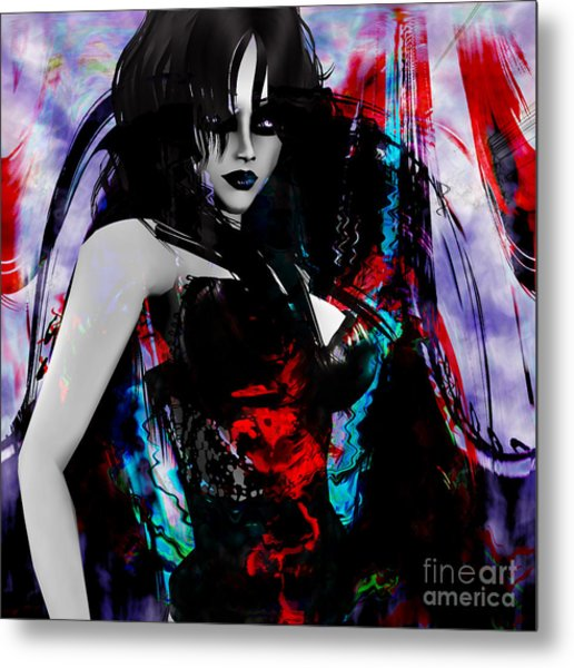 Night Metal Print by Ashantaey Sunny-Fay