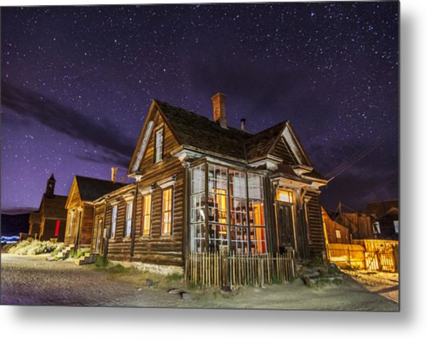 Night At The Cain House Metal Print