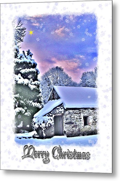 Christmas Card 27 Metal Print