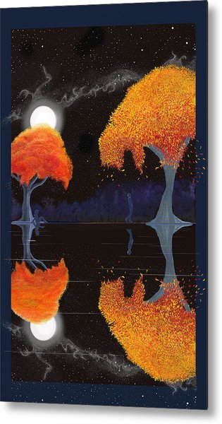 Night Companions  Metal Print