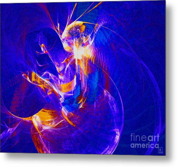Night Dancer 2 Metal Print