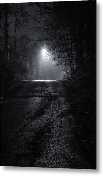 Night Fog Metal Print