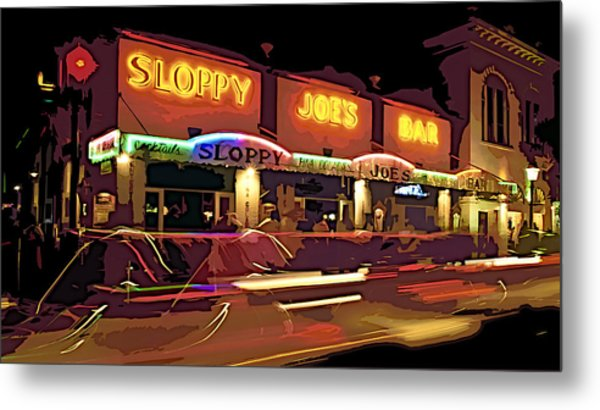 Night Out Metal Print