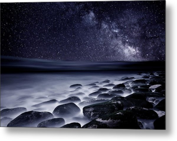 Night Shadows Metal Print