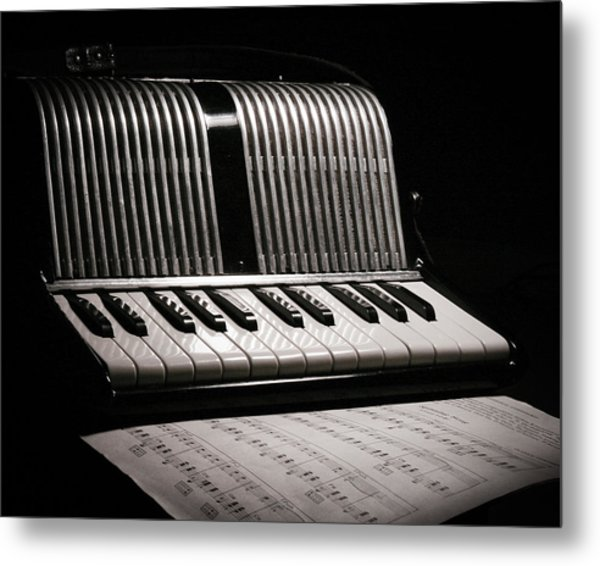 Night Song Metal Print