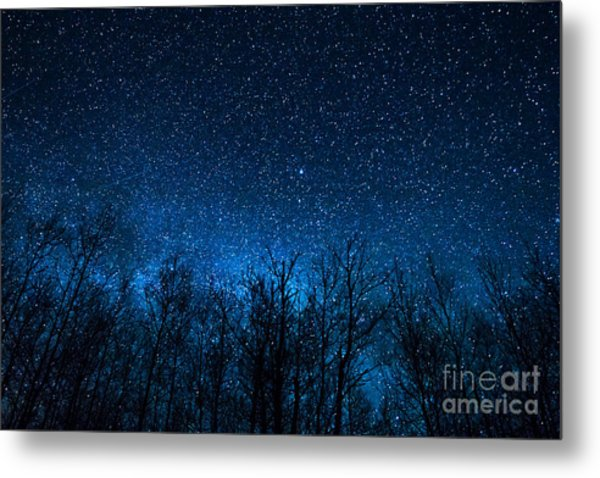 Night Stars Metal Print