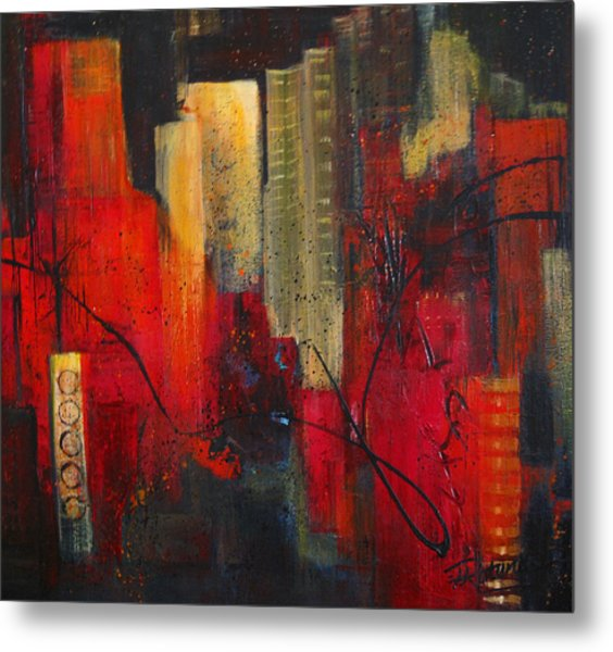 Nightscape Metal Print