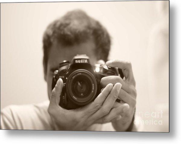 Nikon D7100 Metal Print by Bobby Mandal