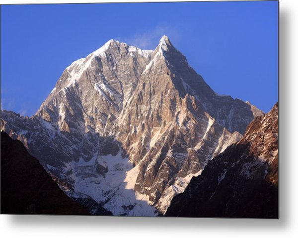 Nilgiri South 6839m Metal Print