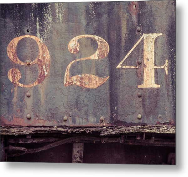 Nine Two Four Metal Print