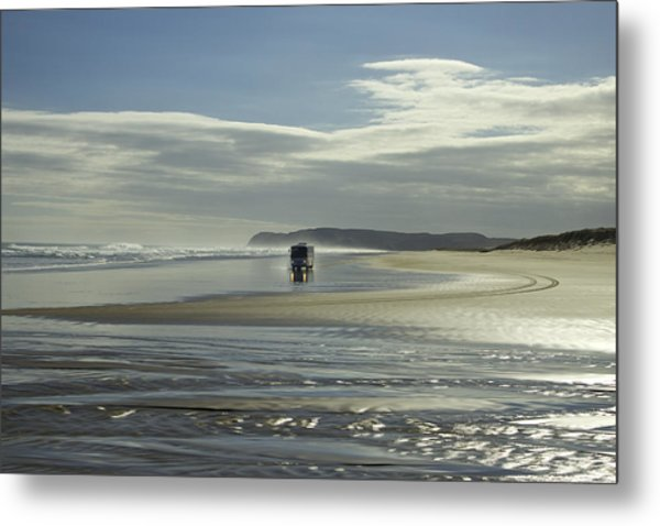 Ninety Mile Beach New Zealand Metal Print