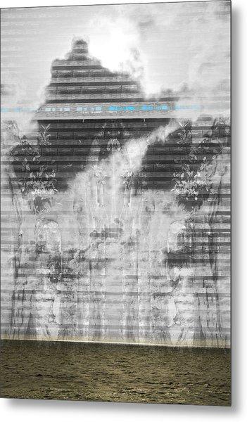 No. 055 Metal Print by Alexander Ahilov