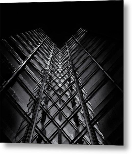 Metal Print featuring the photograph No 11 King St W Toronto Canada by Brian Carson