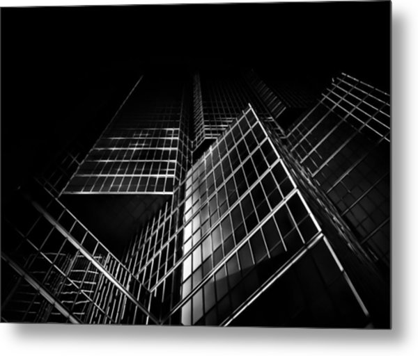 Metal Print featuring the photograph No 200 King St W Toronto Canada by Brian Carson