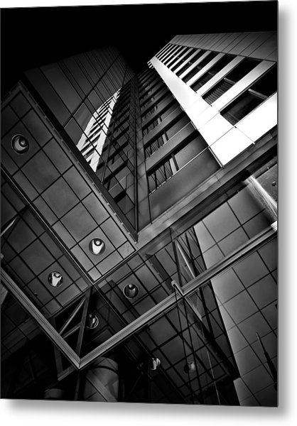 Metal Print featuring the photograph No 225 King Street West David Pecaut Square Toronto Canada by Brian Carson