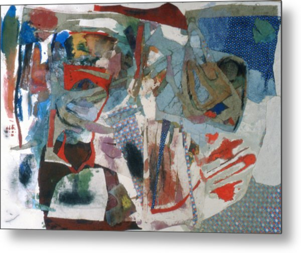 No 3 In A Series Of Assemblages Metal Print