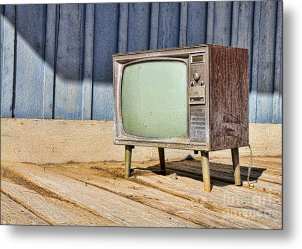 No Channel Surfing - Tv By Diana Sainz Metal Print