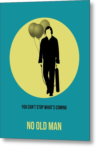 No Country For Old Man Poster 5 Metal Print