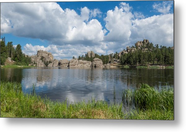 Sylvan Lake South Dakota Metal Print