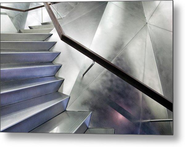 No Right Angle Metal Print by Linda Wride