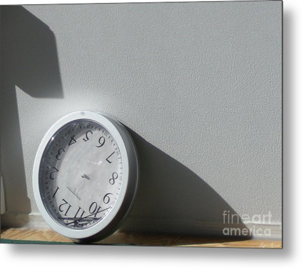 No Time Metal Print