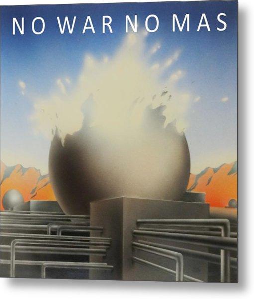 No War No More Metal Print