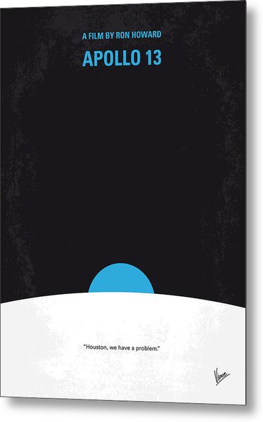 No151 My Apollo 13 Minimal Movie Poster Metal Print