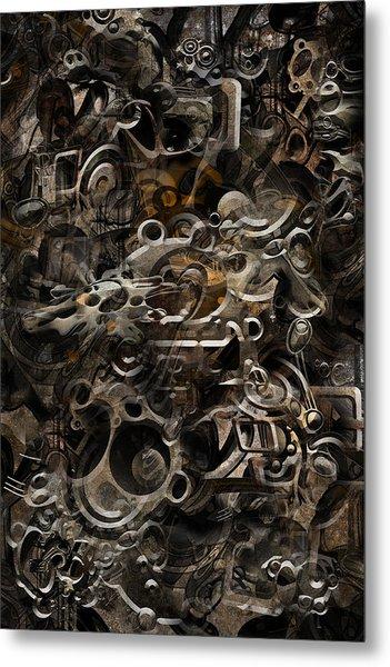 No.16 Metal Print
