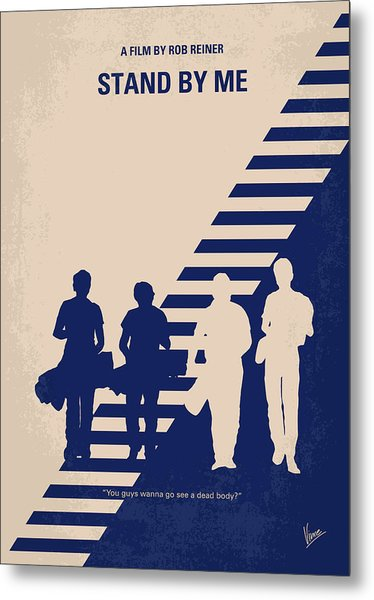 No429 My Stand By Me Minimal Movie Poster Metal Print