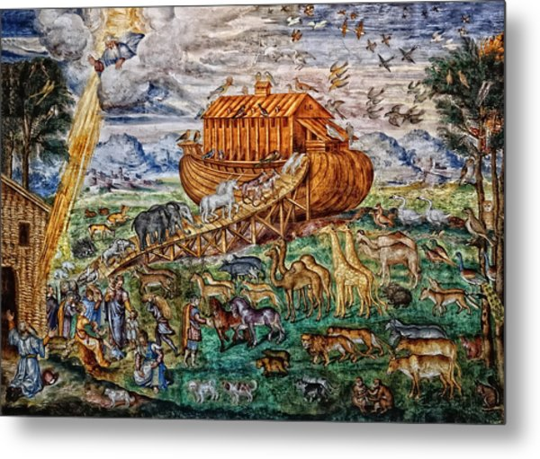 Noah's Ark Metal Print