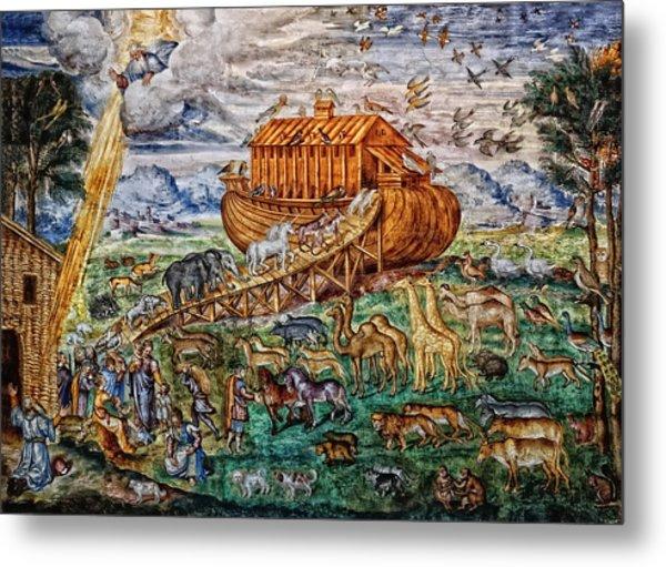Metal Print featuring the photograph Noah's Ark by Nigel Fletcher-Jones