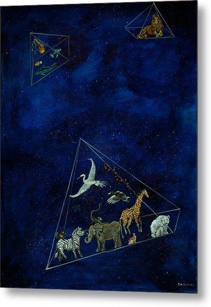 Noah's Last Voyage Metal Print