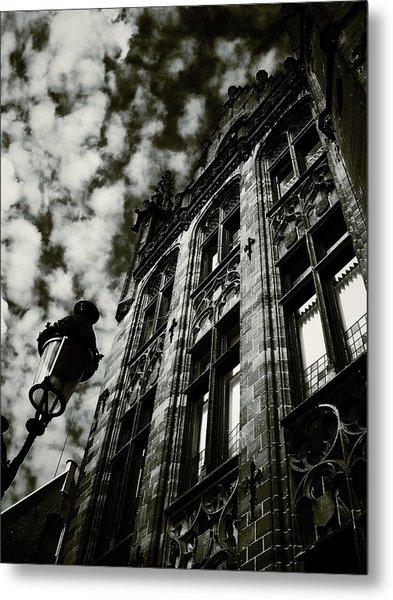 Noir Moment In Brugges Metal Print