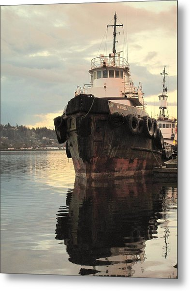 Nokoa At Sunrise Metal Print
