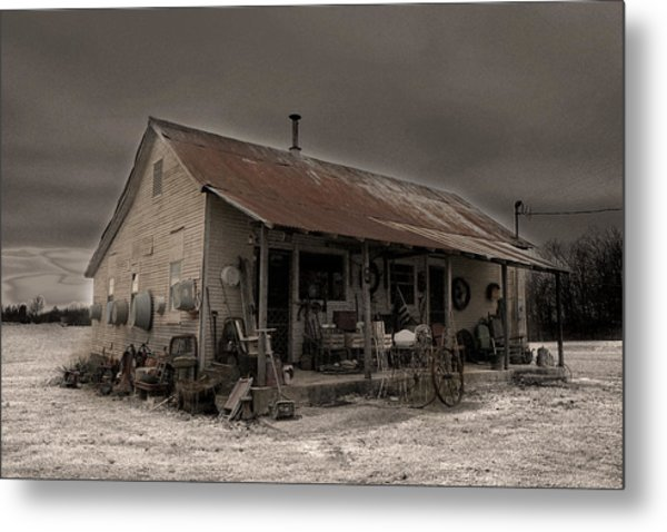 Noland Country Store Metal Print