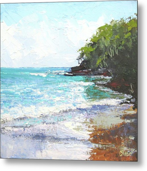 Noosa Heads Main Beach Queensland Australia Metal Print