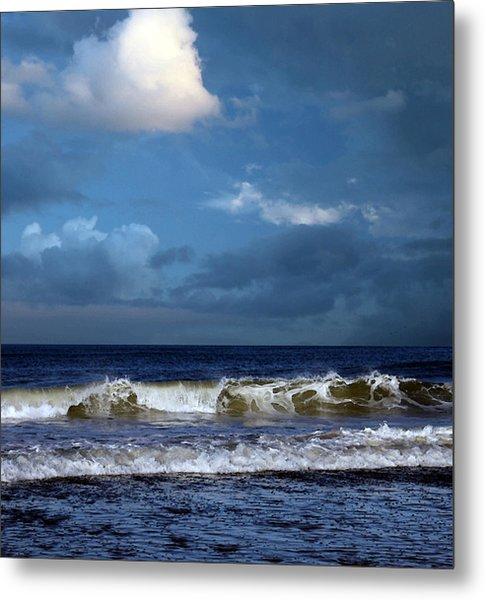 Nor'easter Blowin' In Metal Print