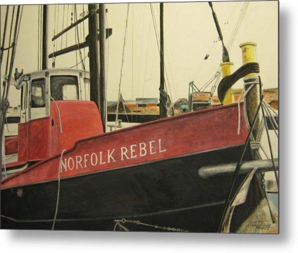 Norfolk Rebel Metal Print