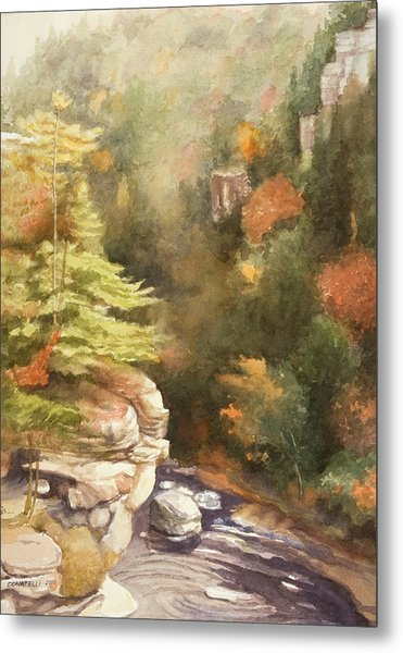 North Carolina Autumn Majesty Metal Print