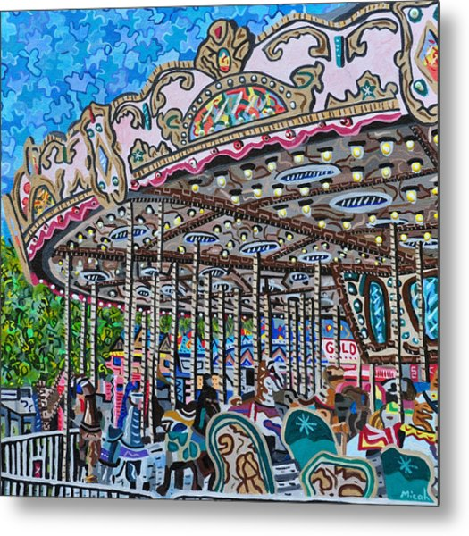 North Carolina State Fair Metal Print by Micah Mullen